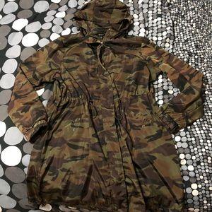 Torrid Longline Wind & Water Resistant Jacket